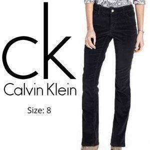 Calvin Klein Black Corduroy Pants Size 8